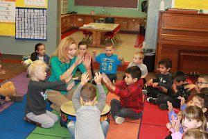 provost kindergarten students