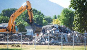 sunset view demolition