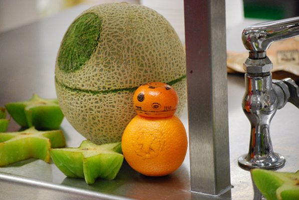 food art of Star Wars characters