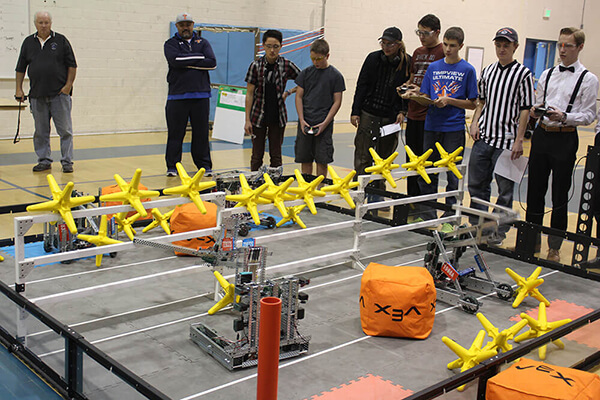 Timpview Hosts VEX Robotics Competition | Provo City ...