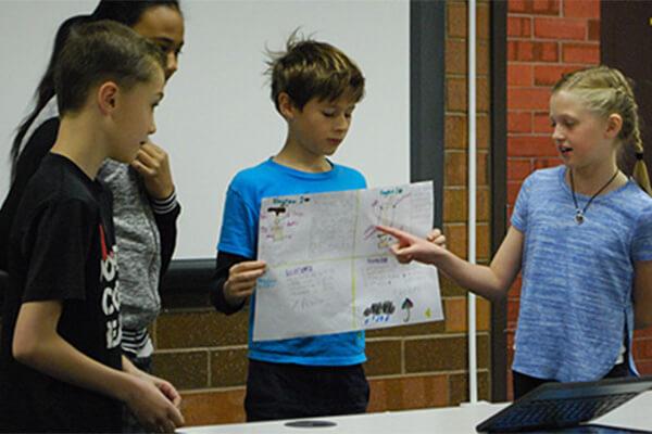 Westridge Students Present Utah Lake Water Filter Plans | Provo City