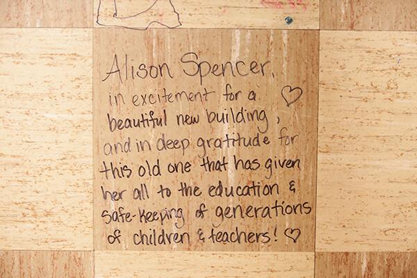 Alison Spencer's tile