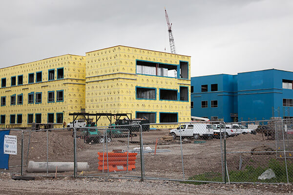 Provo High Construction