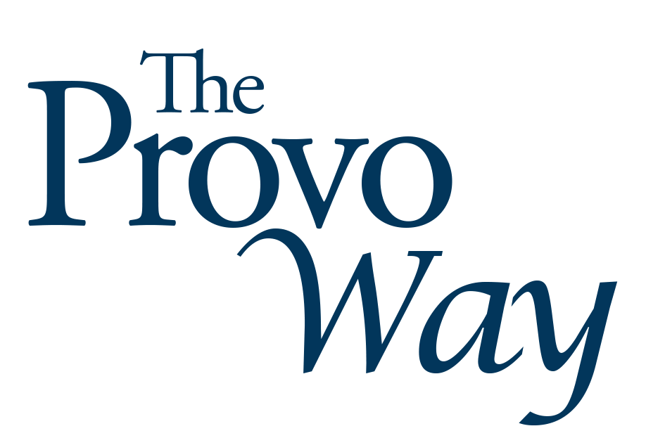 The Provo Way