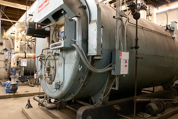 Timpview's boiler