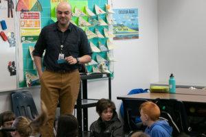6th grade teacher prepares to hand over classroom-buck
