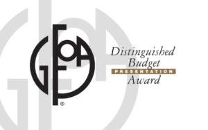 GFOA award